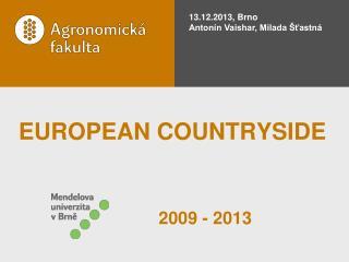 EUROPEAN COUNTRYSIDE