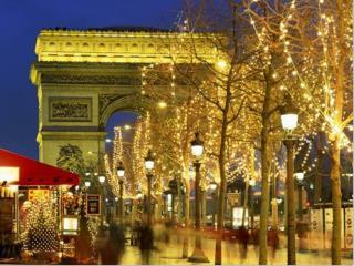 Karácsony francia módra Noël  à la  française