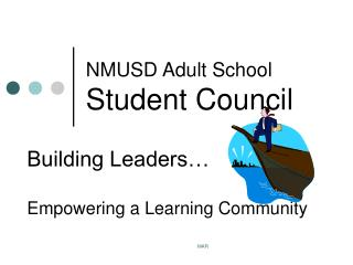 NMUSD Adult School  Student Council