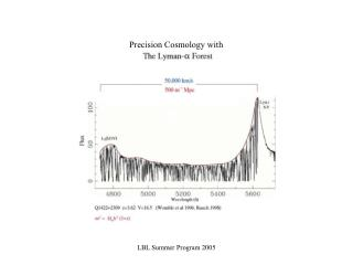 Precision Cosmology with