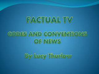 FACTUAL TV