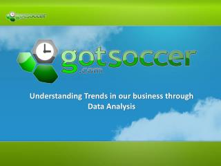 Understanding Trends in our business through Data Analysis
