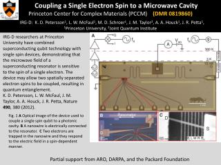 Coupling a Single Electron Spin to a Microwave Cavity