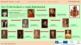 76.1 Čeští králové z rodu Habsburků