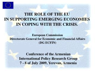Conference of the Armenian  International Policy Research Group