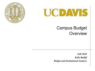 Campus Budget  Overview