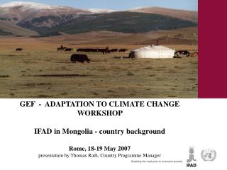 Mongolia  – country background