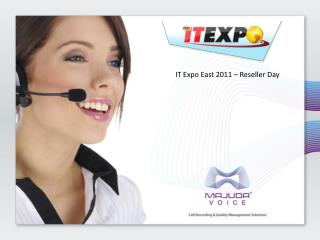 IT Expo East 2011 � Reseller Day