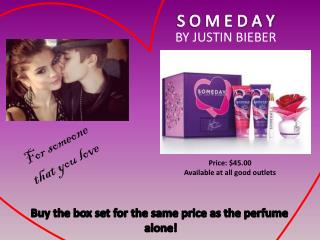 Buy the box set for the same price as the perfume  alone!