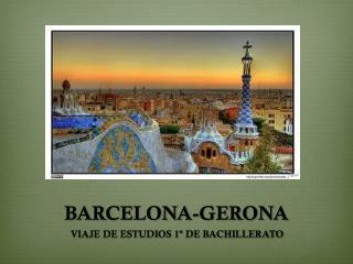 BARCELONA-GERONA
