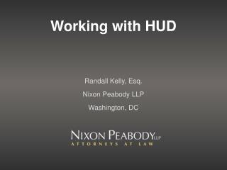 Working with HUD