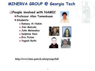 MINERVA GROUP @ Georgia Tech