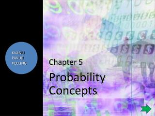 Chapter  5 Probability Concepts
