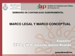 SEMINARIO DE CONTABILIDAD GUBERNAMENTAL
