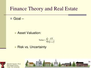 Finance Theory and Real Estate