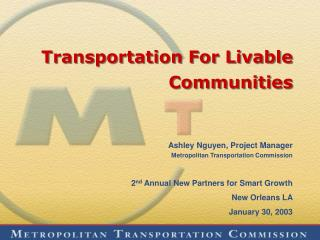 Transportation For Livable Communities