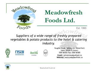 Meadowfresh Foods Ltd.
