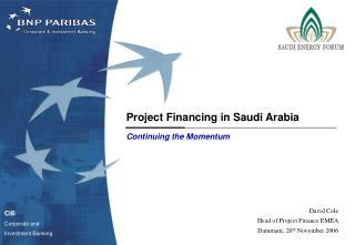 Project Financing in Saudi Arabia