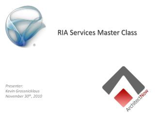 RIA Services Master Class