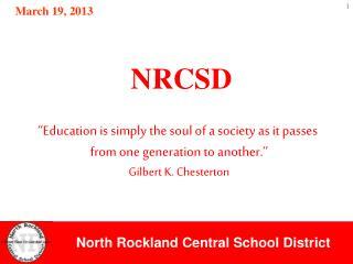 NRCSD