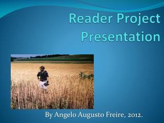 Reader Project Presentation