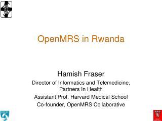 OpenMRS in Rwanda