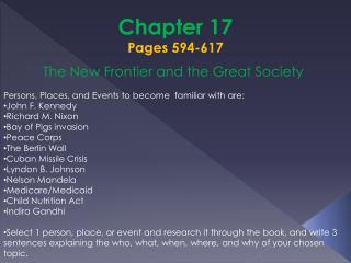 Chapter 17  Pages 594-617