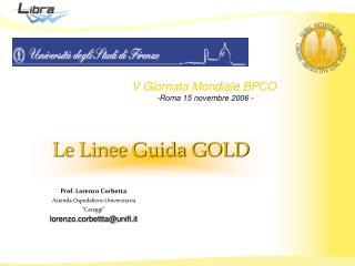 Le Linee Guida GOLD