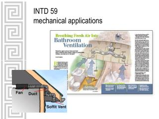 INTD 59 mechanical applications