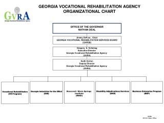 GEORGIA VOCATIONAL REHABILITATION AGENCY ORGANIZATIONAL CHART