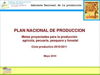 PLAN NACIONAL DE PRODUCCION