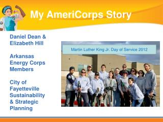 Daniel Dean & Elizabeth Hill Arkansas Energy Corps Members