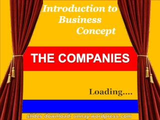 Introduction to Business  Concept
