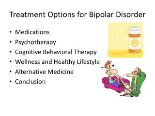 Treatment Options for Bipolar Disorder