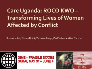 Care Uganda: ROCO KWO – Transforming Lives of Women Affected by Conflict