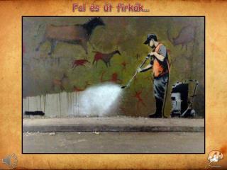 Fal és út firkák …