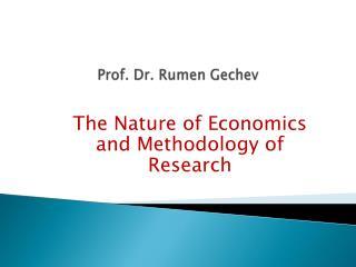 Prof. Dr. Rumen Gechev