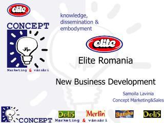 Elite Romania New Business Development