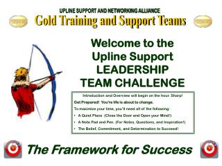 Gold Training and Support Teams