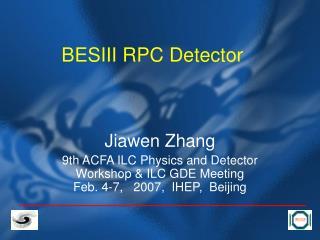 BESIII RPC Detector