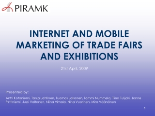 Successful Participation in Trade Fairs