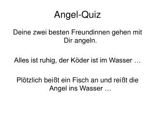 Angel-Quiz