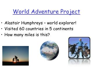 World Adventure Project