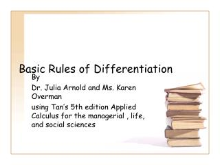 Basic Rules of Differentiation