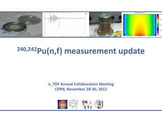 240,242 Pu( n,f ) measurement update