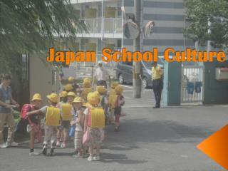 Japan School Culture