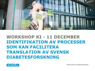 Workshop KI - 11  december
