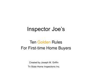 Inspector Joe's