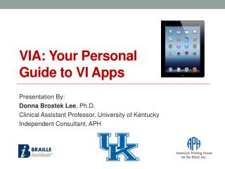 VIA: Your Personal Guide to VI Apps