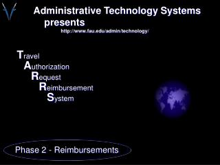 Administrative Technology Systems     presents fau/admin/technology/